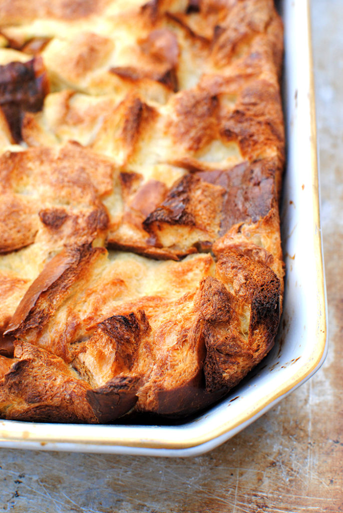 Bread Pudding With Bourbon Caramel Sauce Let S Eat Cake