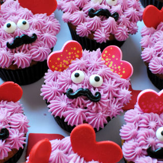 Love Monster Cupcakes
