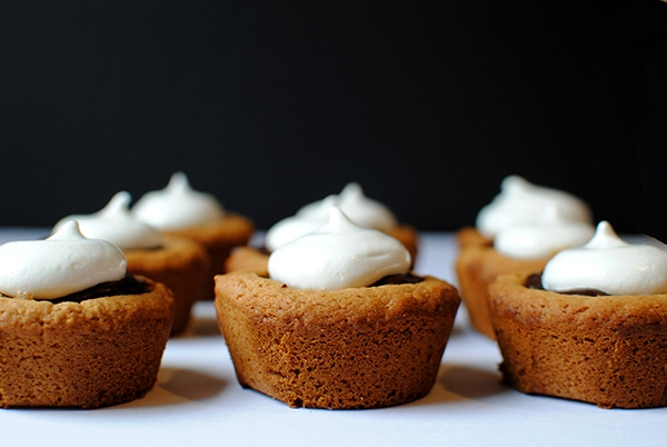 Smores Cookie Cups