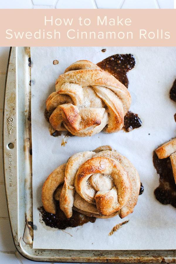 kanelbullar swedish cinnamon rolls