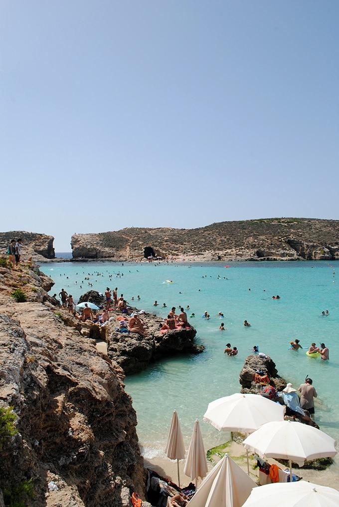 Blue Lagoon in Malta | LetsEatCake.com