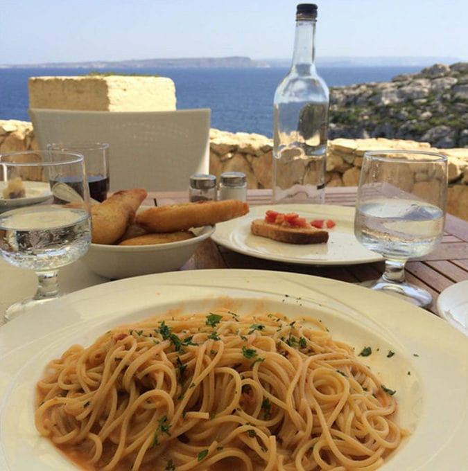 Uni pasta in Malta | LetsEatCake.com