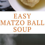 Matzo Ball Soup Recipe