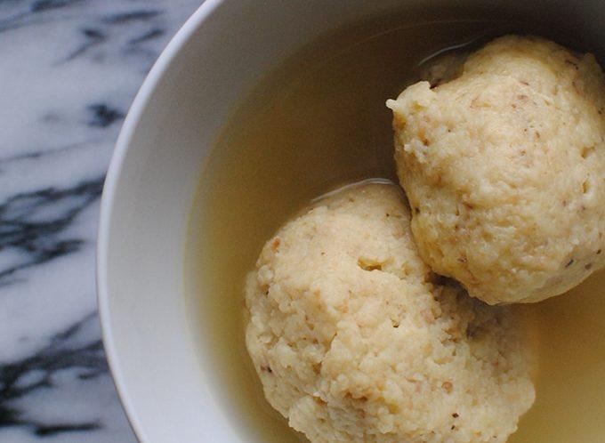 Matzoh Ball Soup Recipe | LetsEatCake.com