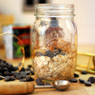Reese's Peanut Butter Chocolate Overnight Oats