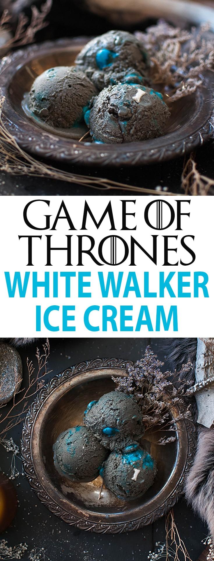 Game of Thrones Ice Cream Recipe