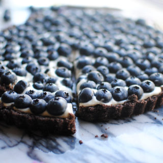 Chocolate Blueberry Tart