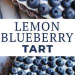 Lemon Blueberry Tart
