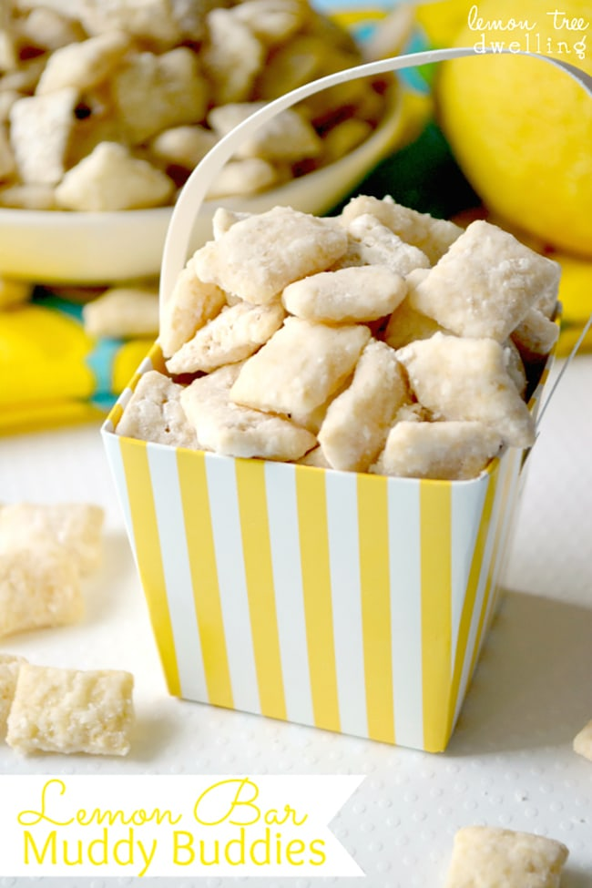 25 Puppy Chow Recipes - lemon bar