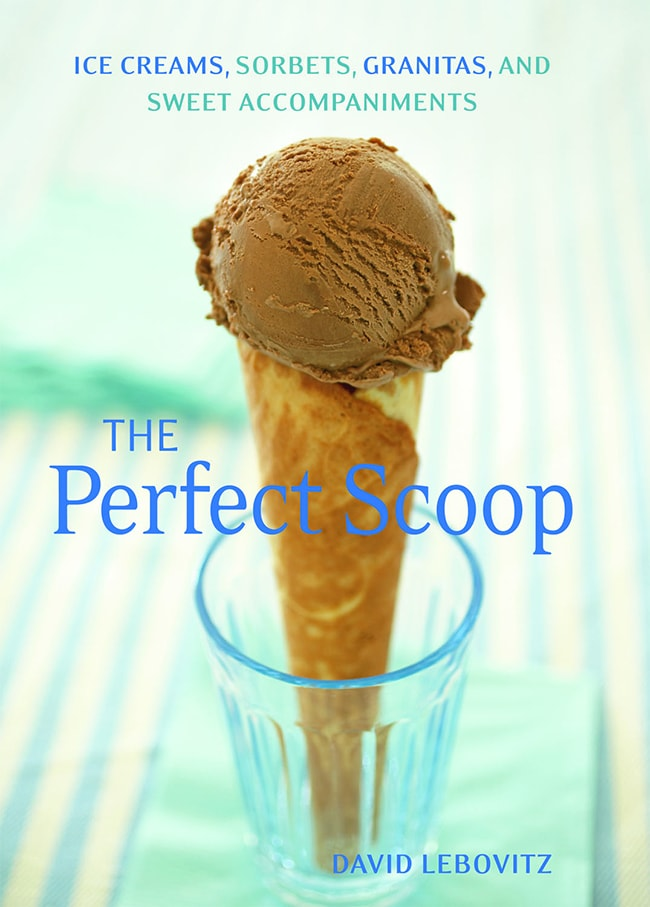 The Best Baking Books - The Perfect Scoop By David Lebovitz