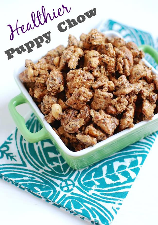 25 Puppy Chow Recipe Variations | Let's Eat Cake