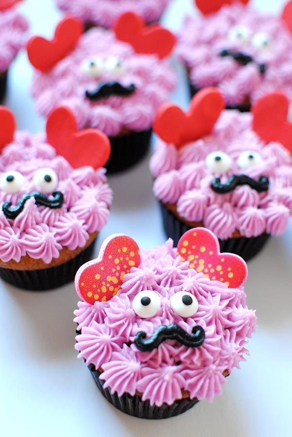 Love Monster Cupcakes 1