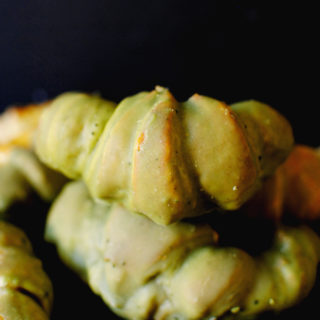 Green Tea Matcha Croissants
