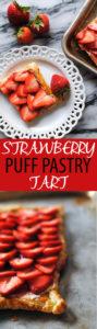 Strawberry Puff Pastry Tart recipe