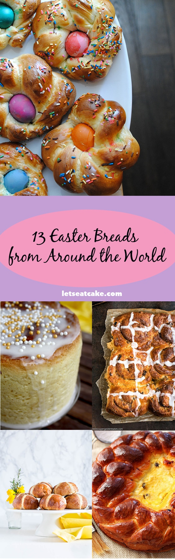 13 Easter Breads from Around the World