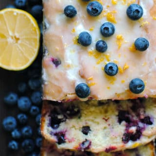 Lemon Blueberry Loaf Recipe