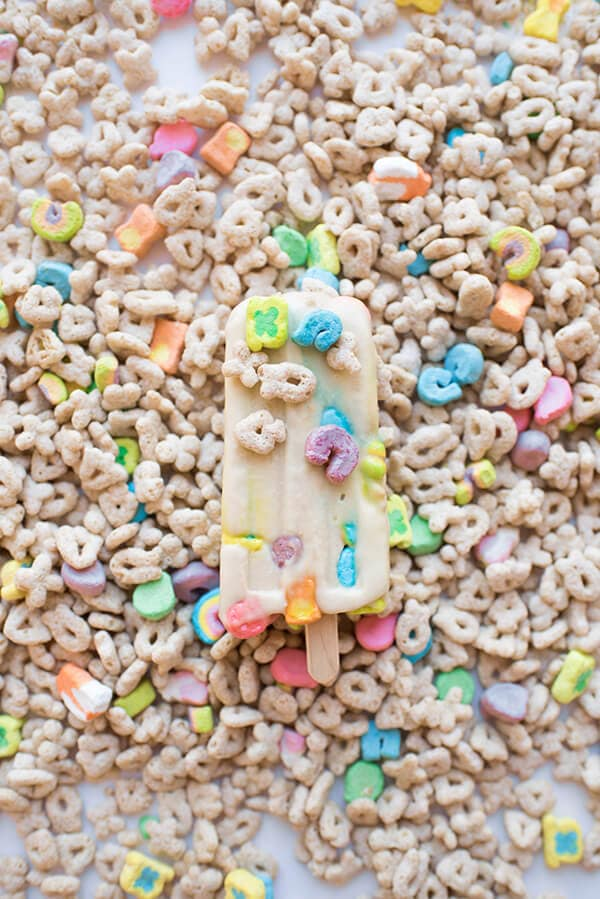 Lucky Charms Ice Cream