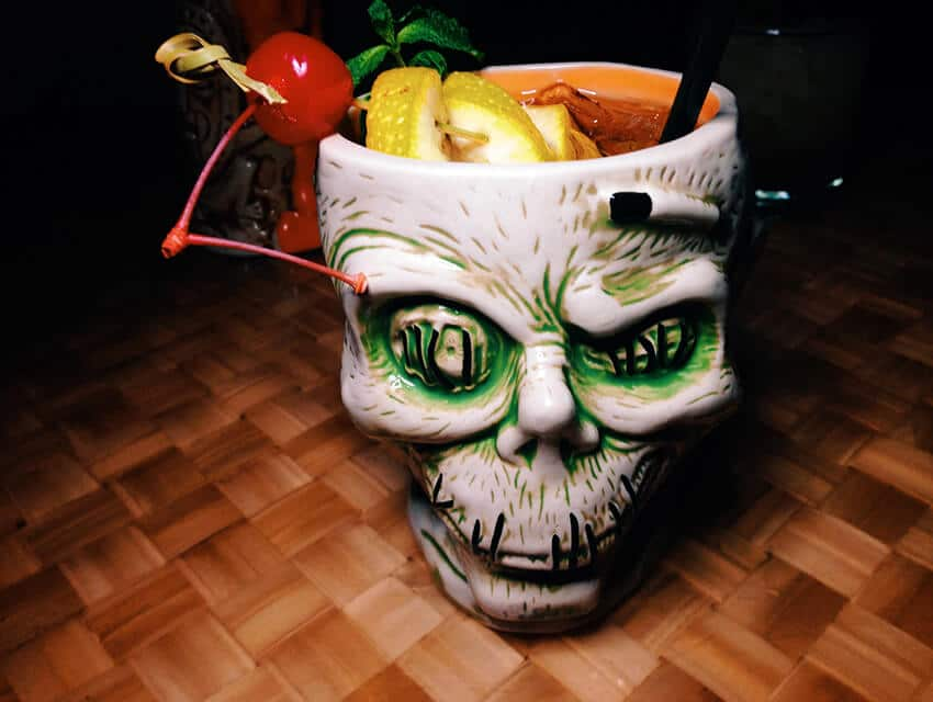 Disney's Trader Sam's Zombie Mug - photo by Caroline on Crack