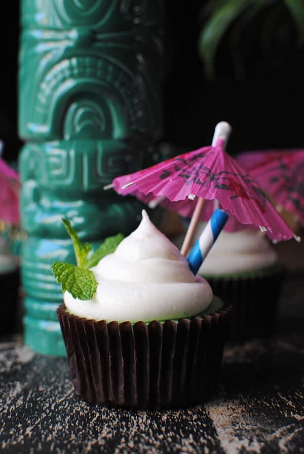 Tiki Cupcakes - Zombie Cupcake