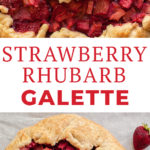 Strawberry Rhubarb Galette Recipe