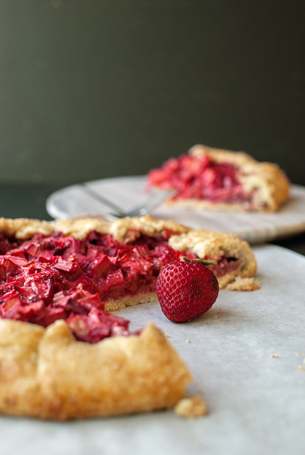 Fruit Galette - Strawberry Rhubarb