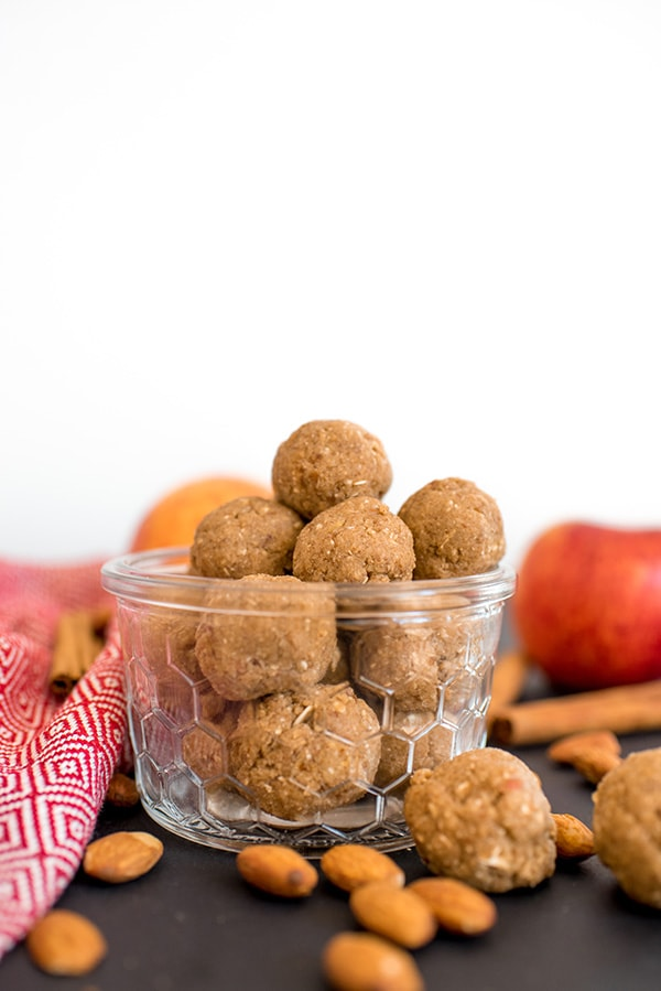 Apple Cinnamon Energy Balls Recipe