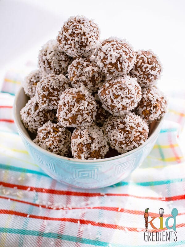 Cacao Coconut Power Balls