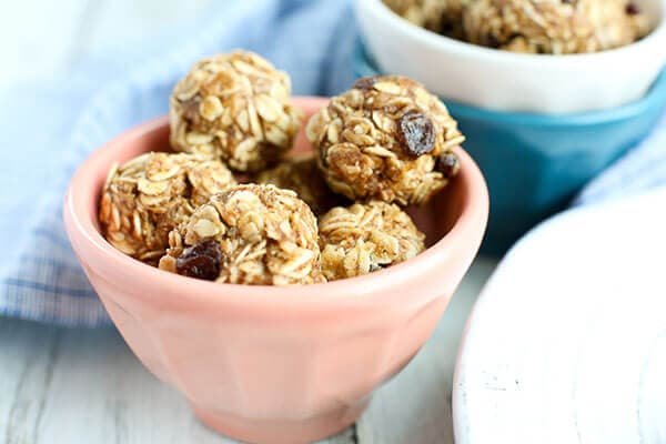 Oatmeal Cookie Energy Balls