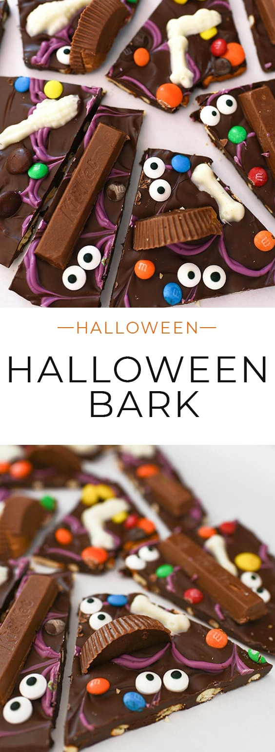 Make this easy and fun Halloween Treat with your favorite candies!