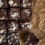 Sugar Cookie Bars with Chocolate Frosting and Coconut