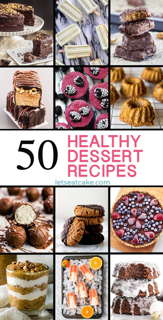 50 Healthy Dessert Recipes