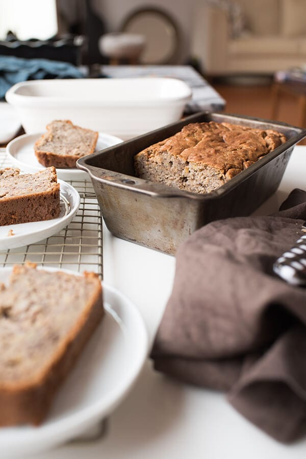Behind the Scenes Banana Bread recipe