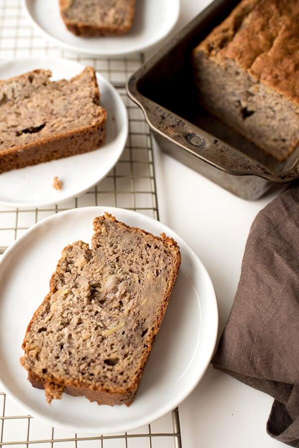 Healthy banana bread recipe easy quick bread lets eat cake healthy banana bread recipe forumfinder Gallery