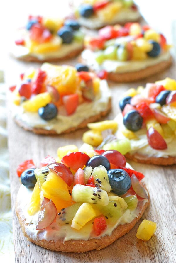 Healthy Summer Desserts: Fruit Pizza