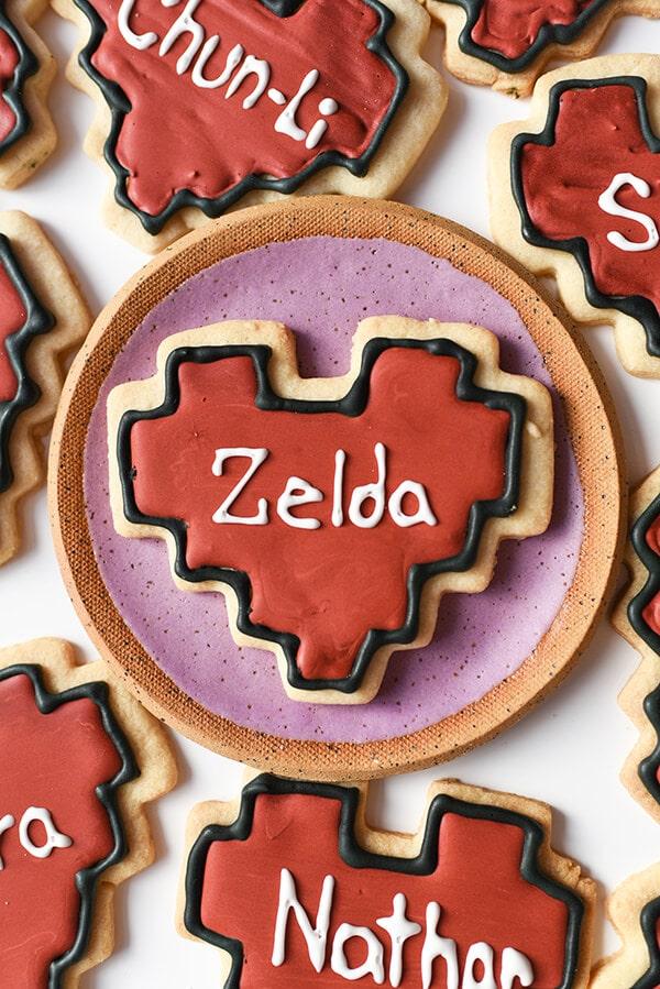 Valentine Cookies Zelda