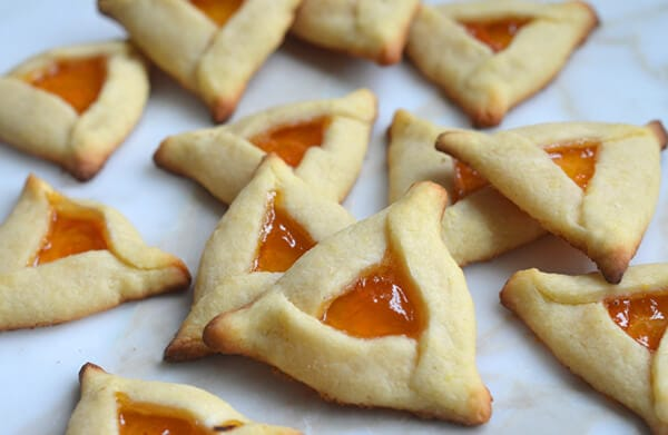 Apricot Hamantaschen by Once Upon a Chef