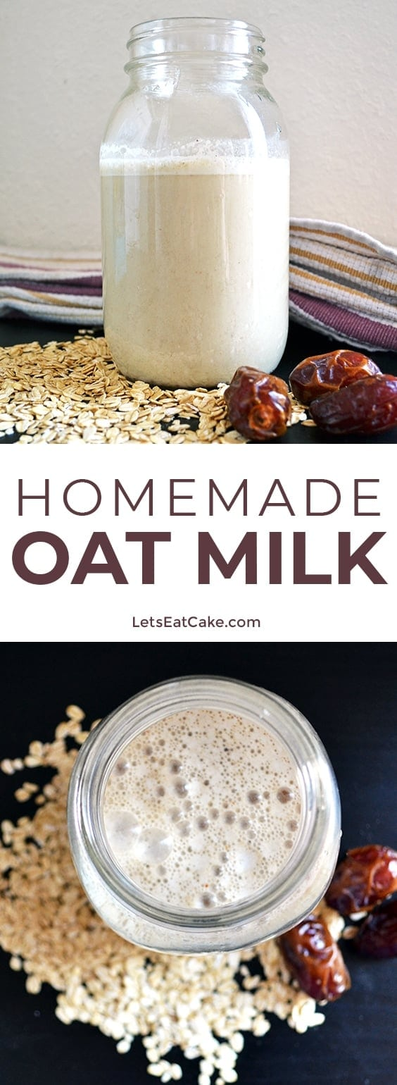 Homemade Oat Milk Recipe