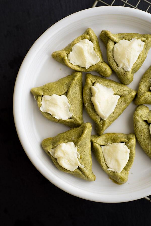Matcha Hamantaschen Cookie Recipe