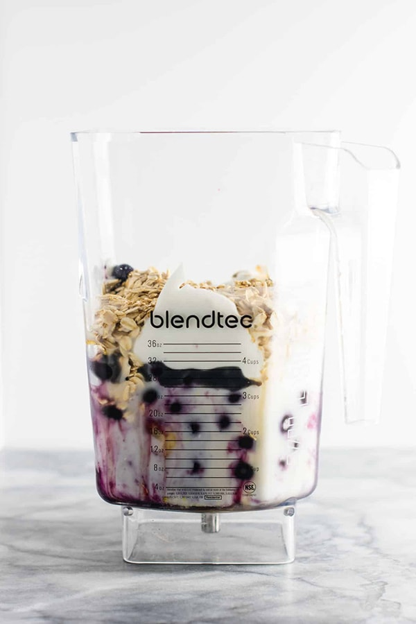 21 Smoothie Recipes - Blueberry Pie