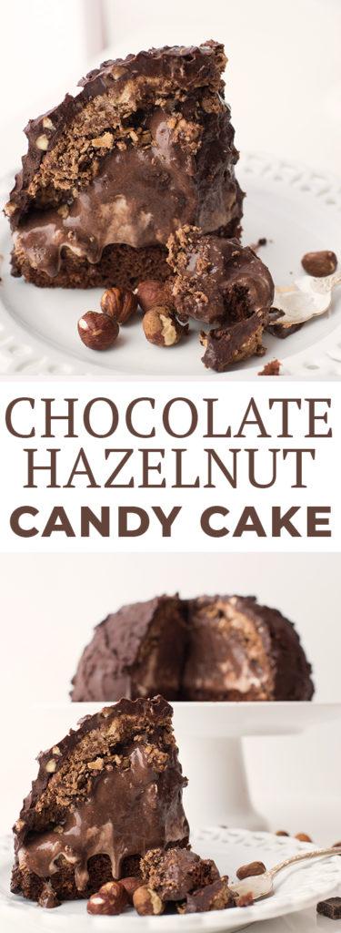 Chocolate Hazelnut Candy Cake Recipe