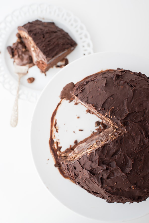 Chocolate Hazelnut Candy Cake