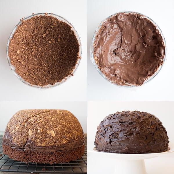 Chocolate Hazelnut Candy Cake How To