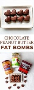 Chocolate Peanut Butter Fat Bomb Recipe
