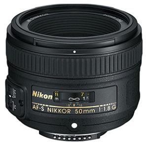 Nikkor 50mm Lens for Nikon