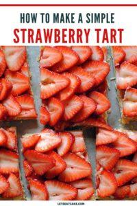 Puff Pastry Strawberry Tart Pin 2