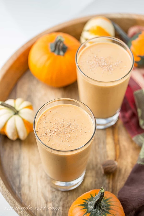 21 Smoothie Recipes - Pumpkin Pie