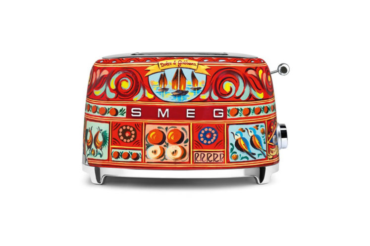 Smeg Appliances and Dolce & Gabbana Team Up To Bring You The Perfect $600 Toaster