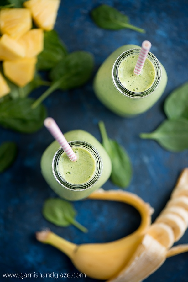 21 Smoothie Recipes - Spinach