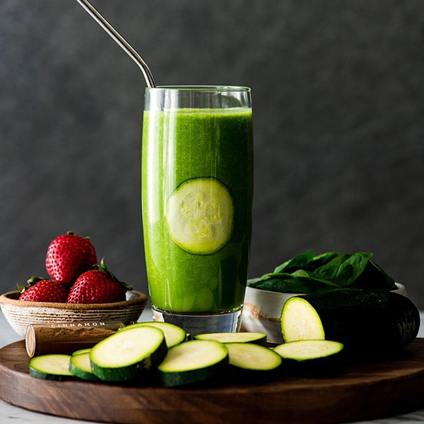 21 Smoothie Recipes - Zucchini