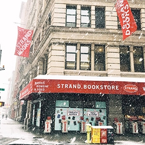 Bookstores in NYC - The Strand bookstore in Union Square